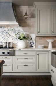 Granite back splash