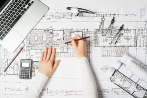 Schematic design of construction documents