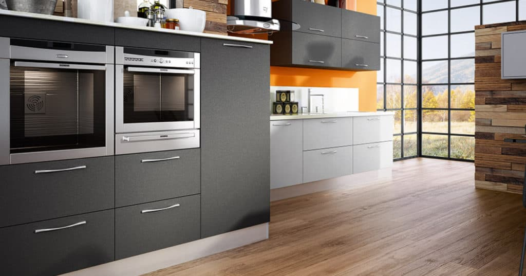 grey matte finish for cabinets