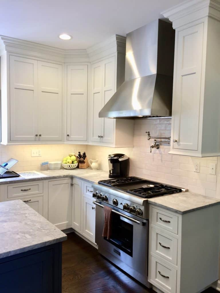 paint finish for kitchen cabinets