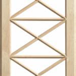 Mullion pattern #12- Maple