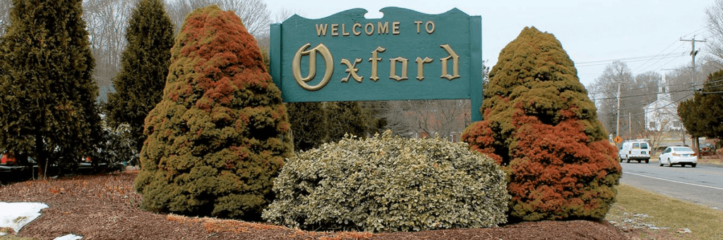 Twn sign of Oxford