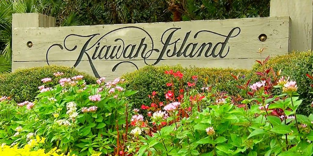 Town sign of Kiawah Island