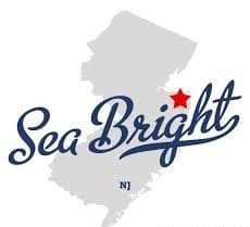 Town sign of Sea Bright
