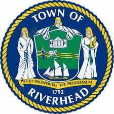 Town sign of Riverhead