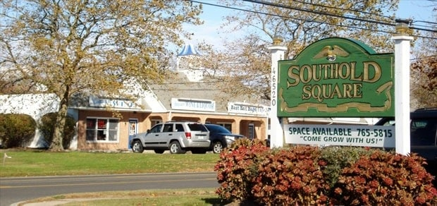 Town sign of Southold