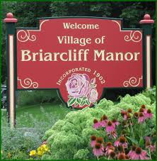 Town sign of Briarcliff Manor
