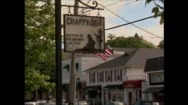 Town sign of Chappaqua
