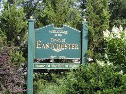 Town sign of Eastchester