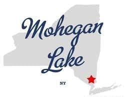 Town sign of Mohegan Lake