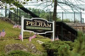 Town sign of Pelham