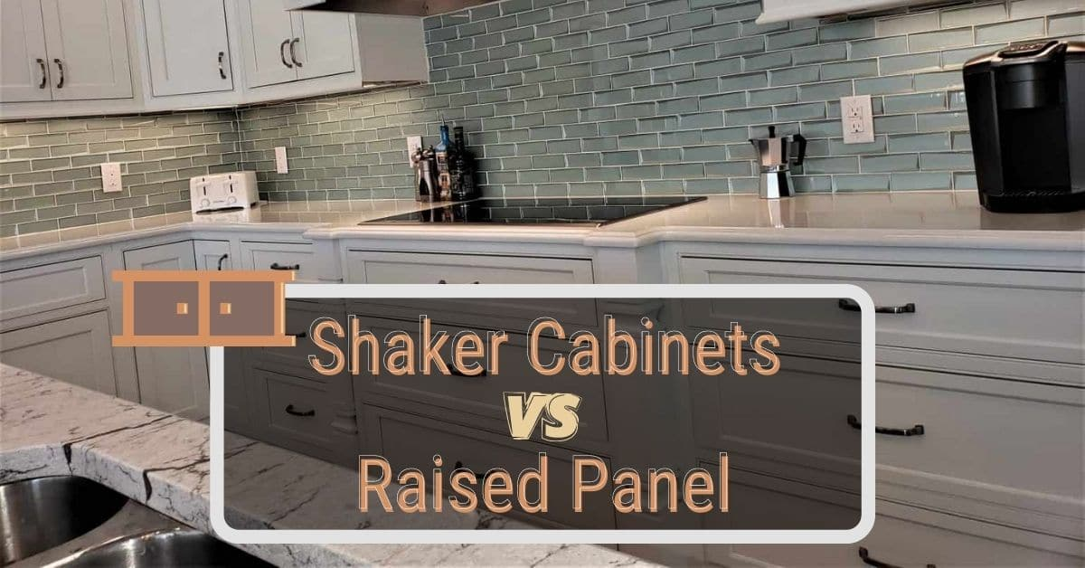 Shaker Cabinets Vs Raised Panel, Are Shaker Cabinets More Expensive