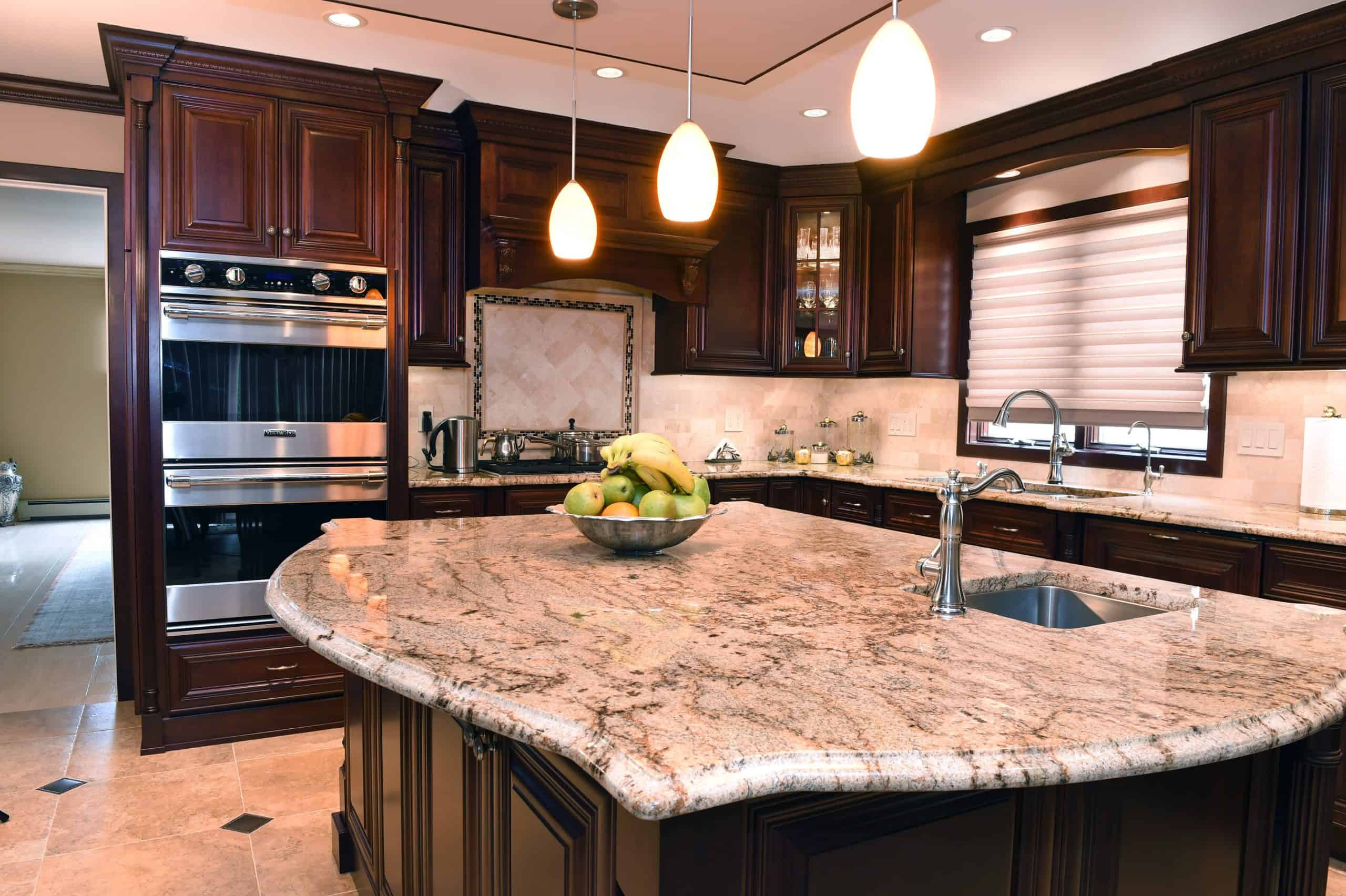 TYpes of edges of granite countertops