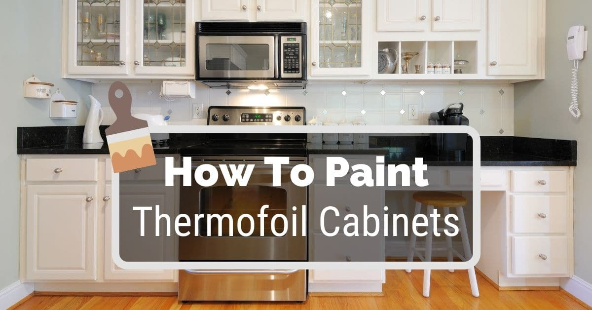 How To Paint Theril Cabinets, Can I Paint Particle Board Kitchen Cabinets