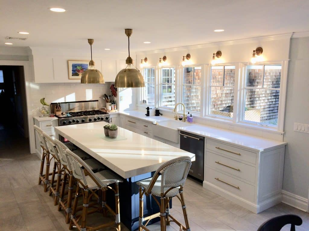 Ideal kitchen counter height