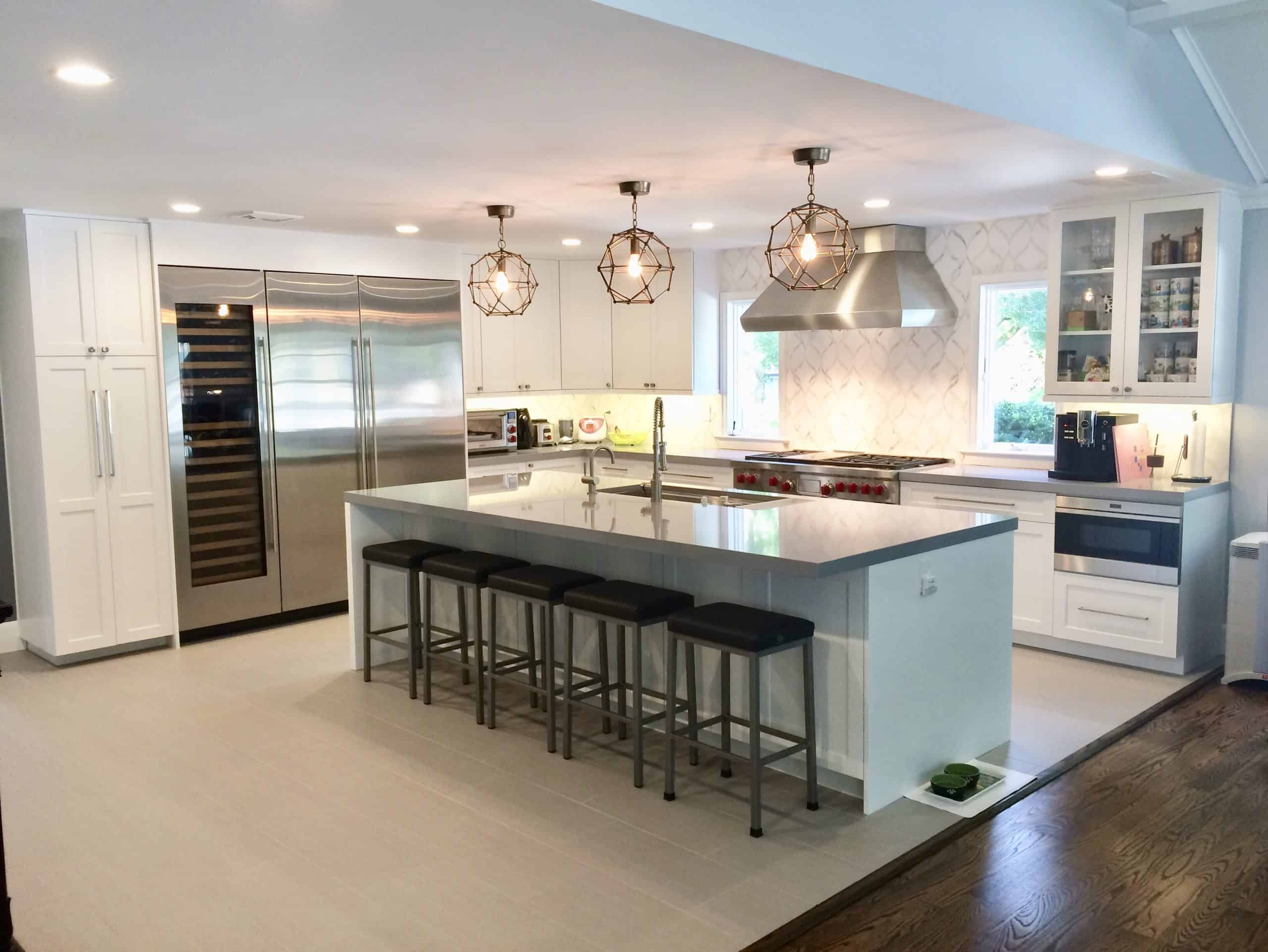 Building a kitchen island yourself