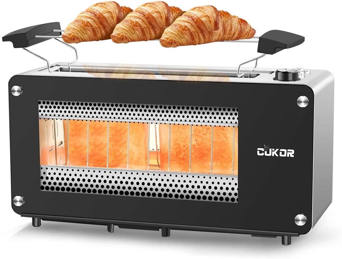 2-slice CUKOR Long Slot Toaster