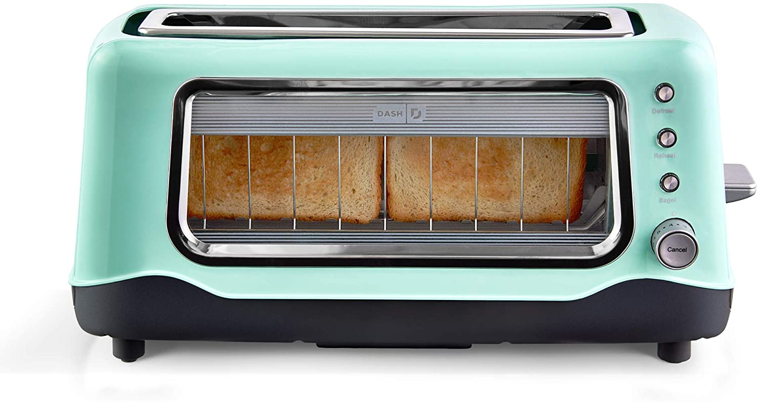 Dash Clear View Toaster with Auto Shutoff Feature DVTS501