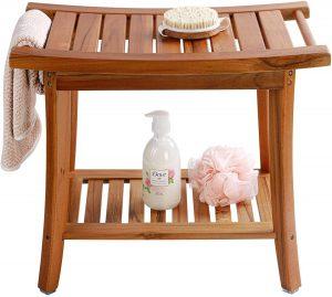 Teak Shower Bench Seat