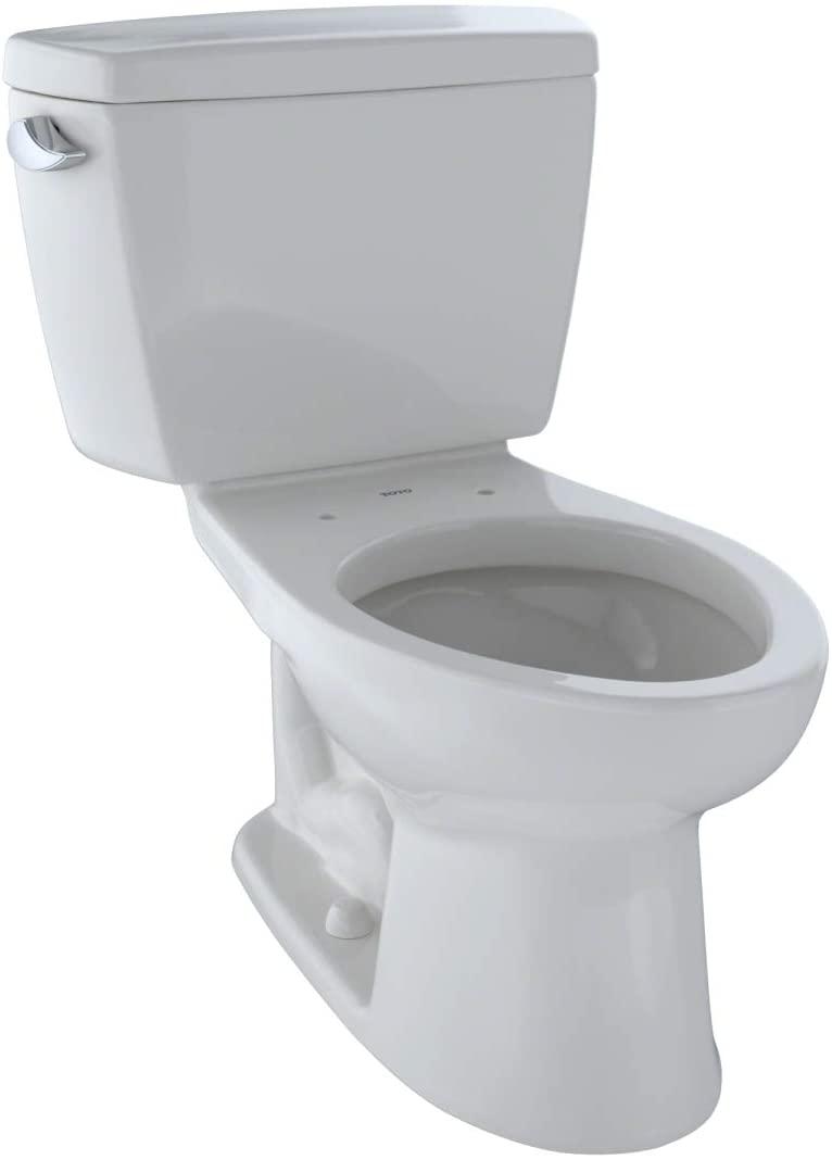 Toto CST744E Elongated Flushing Toilet