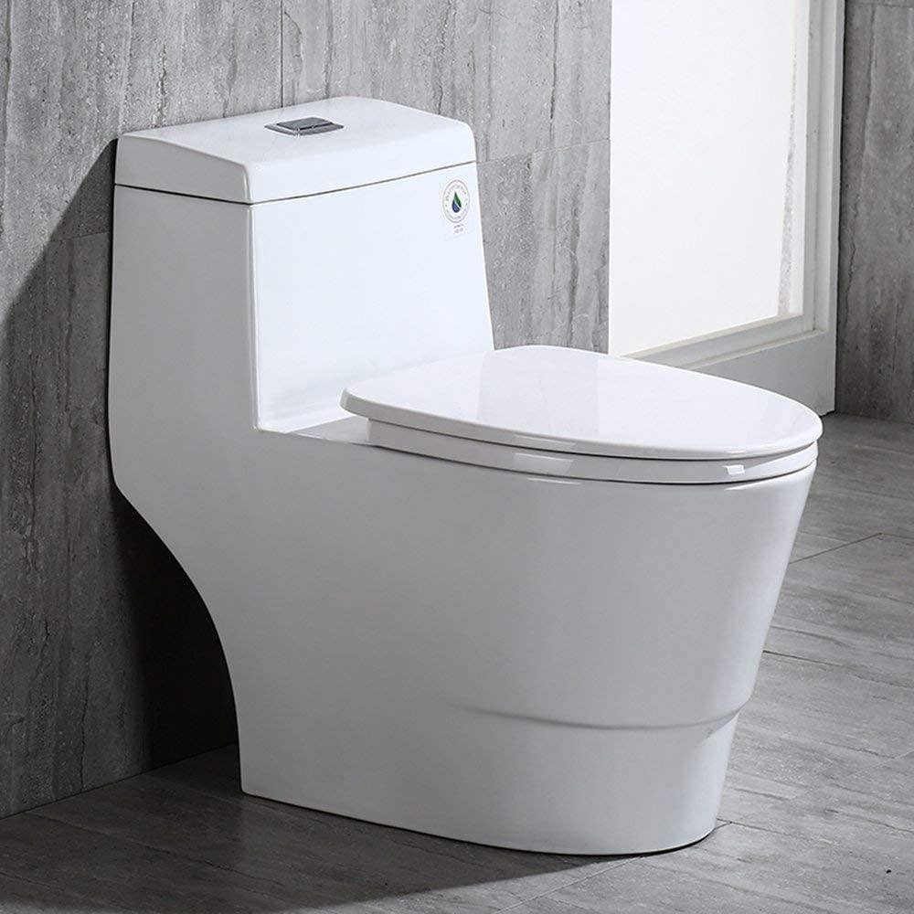 Woodbridge Dual Flush One-Piece Toilet