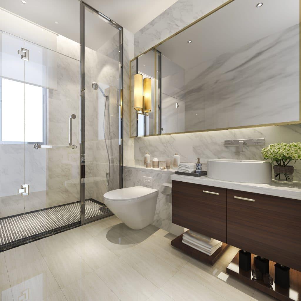 Bathtub shower