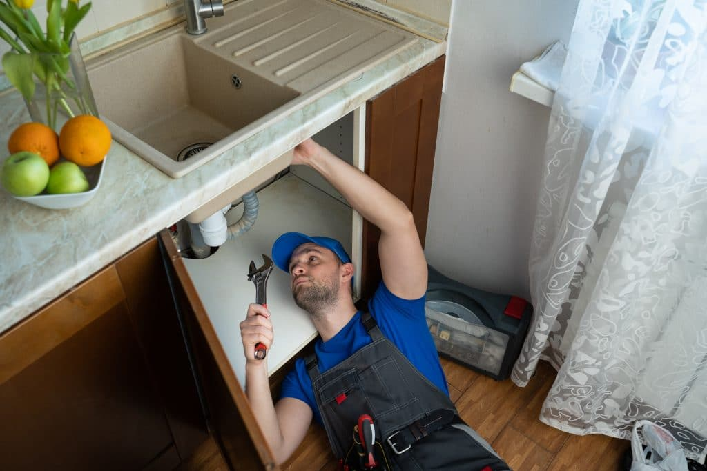 fixing leaky faucet