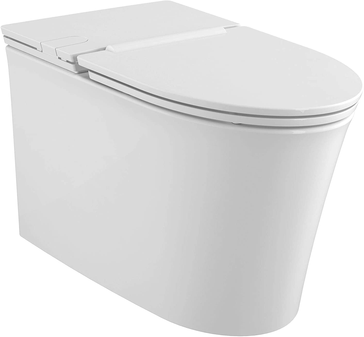 American Standard Studio S Right Height Elongated Low-Profile Toilet with Seat
