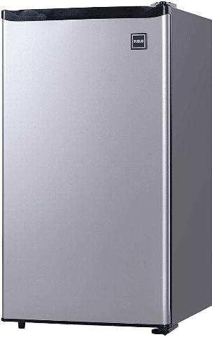 RCA RFR322-B Stainless Steel Mini-fridge