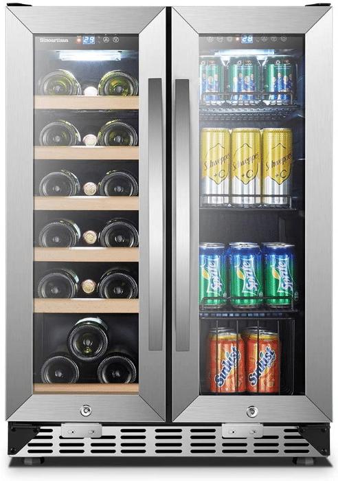 Sinoartizan Under Counter Wine and Beverage Cooler
