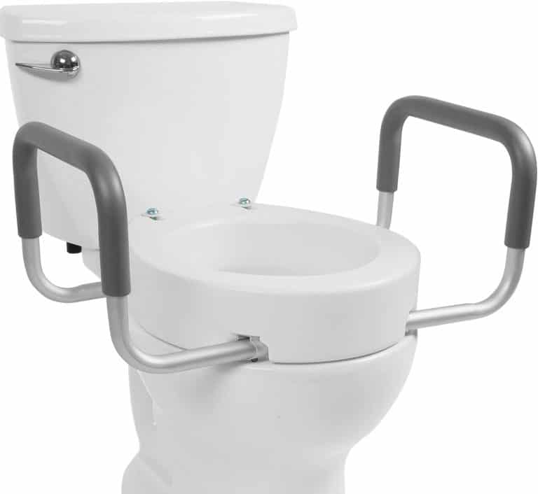 Vive Toilet seat with Handles for Handicapped