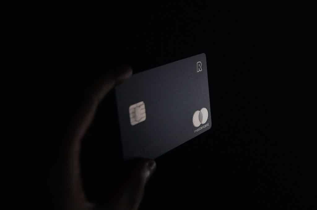 using credit card to unlock door