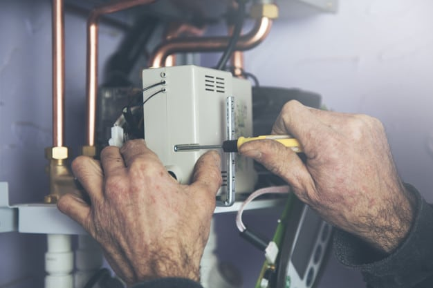 Fixing hot water heater