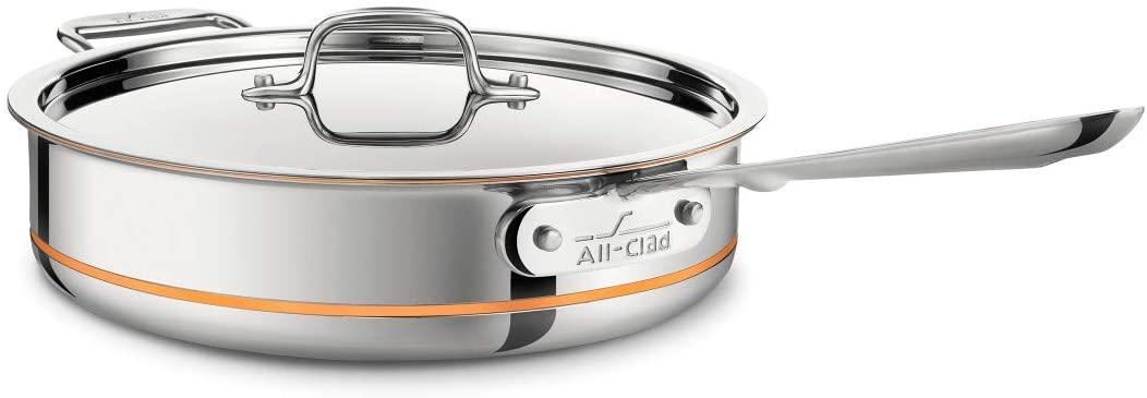 All-Clad Copper Core Deep Sauté Pan