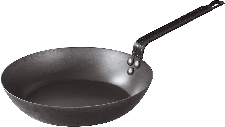 BelleVie Cajun Style Carbon Steel Pan
