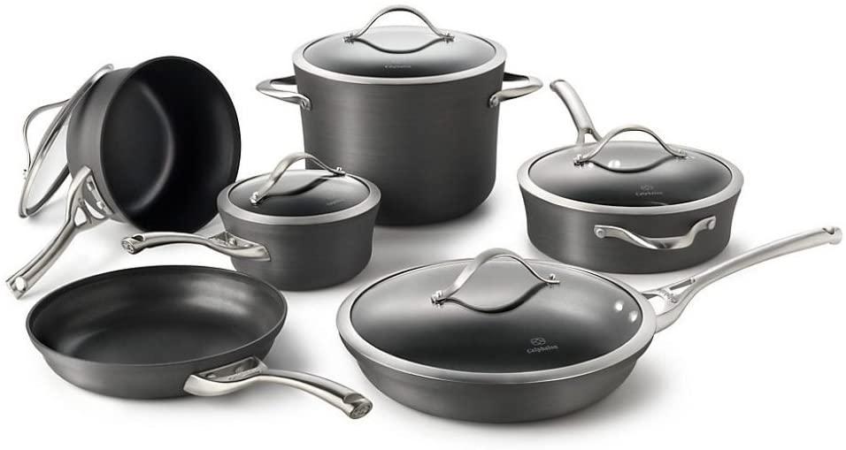 Calphalon Contemporary 11-piece Hard Anodized Aluminum Non-Stick Cookware Set
