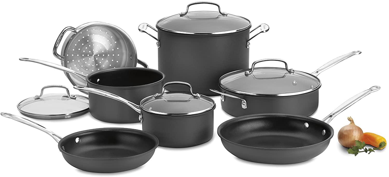 Cuisinart Chef's Classic 66-11 Non-stick Hard Anodized Aluminum Collection