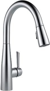 Delta Faucet Essa Pull-out Kitchen Faucet: Best touch faucet