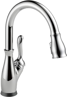 Delta Leland 9178T-AR-DST Kitchen Sink Faucet with Sprayer
