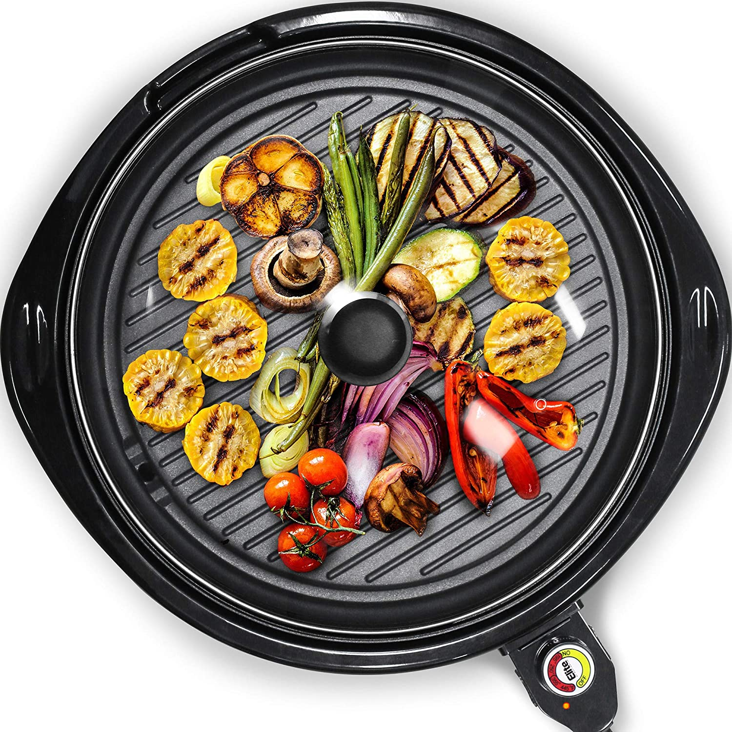 Maxi-Matic Smokeless Electric Indoor BBQ Grill - Best Compact Indoor Grill