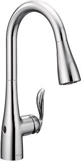 Moen Arbor Motionsense Touchless Pull-out Kitchen Faucet: Best touchless faucet