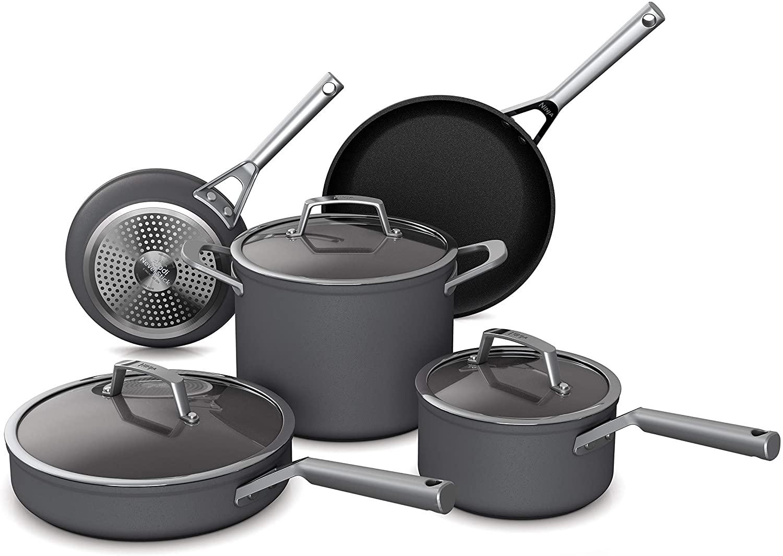 Ninja Foodi NeverStick Premium Hard Anodized Cookware Set