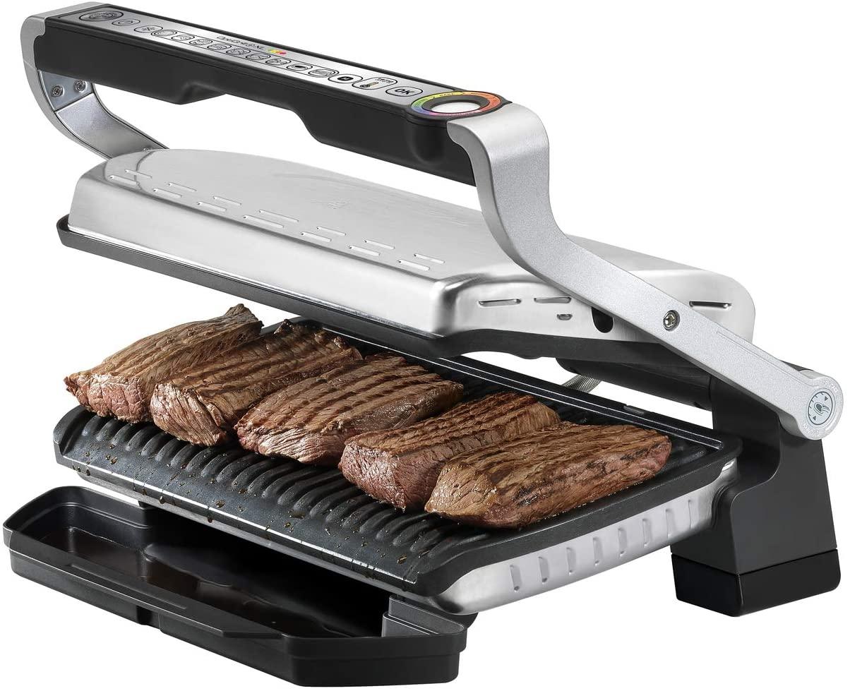 T-Fal 1800 Watt OptiGrill XL - Best Indoor Grill For Pre-Programmed settings