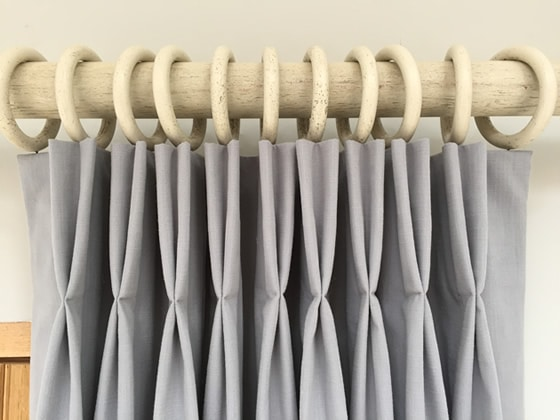 how to make pinch pleat draperies