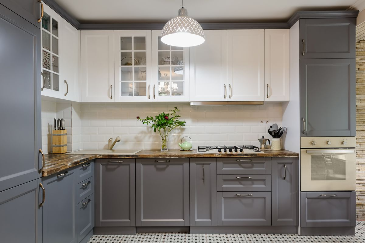 How to clean painted kitchen cabinets