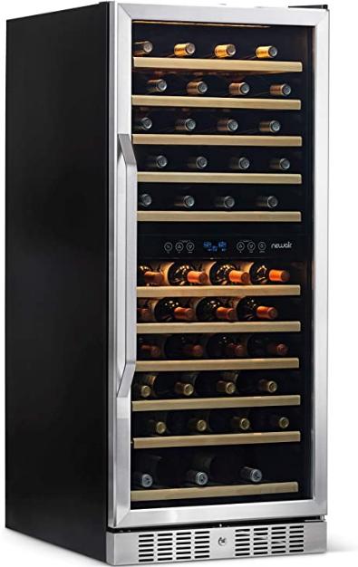 NewAir 116 Built-in Dual Zone Wine Cellar (Best built-in)