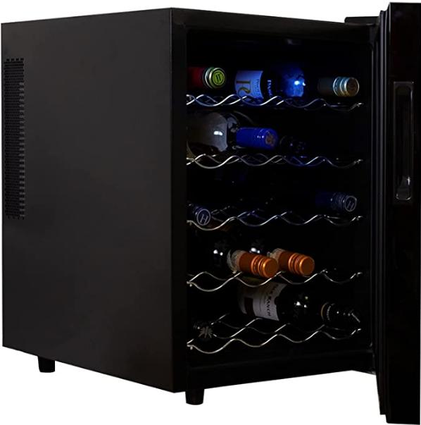 Koolatron 20-bottle Wine Fridge (Best thermoelectric wine fridge)