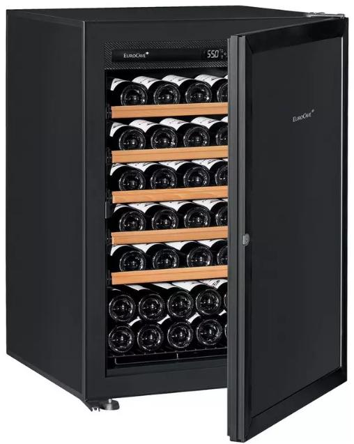 Wine Enthusiast EuroCave Premiere S 74-bottle Wine Fridge