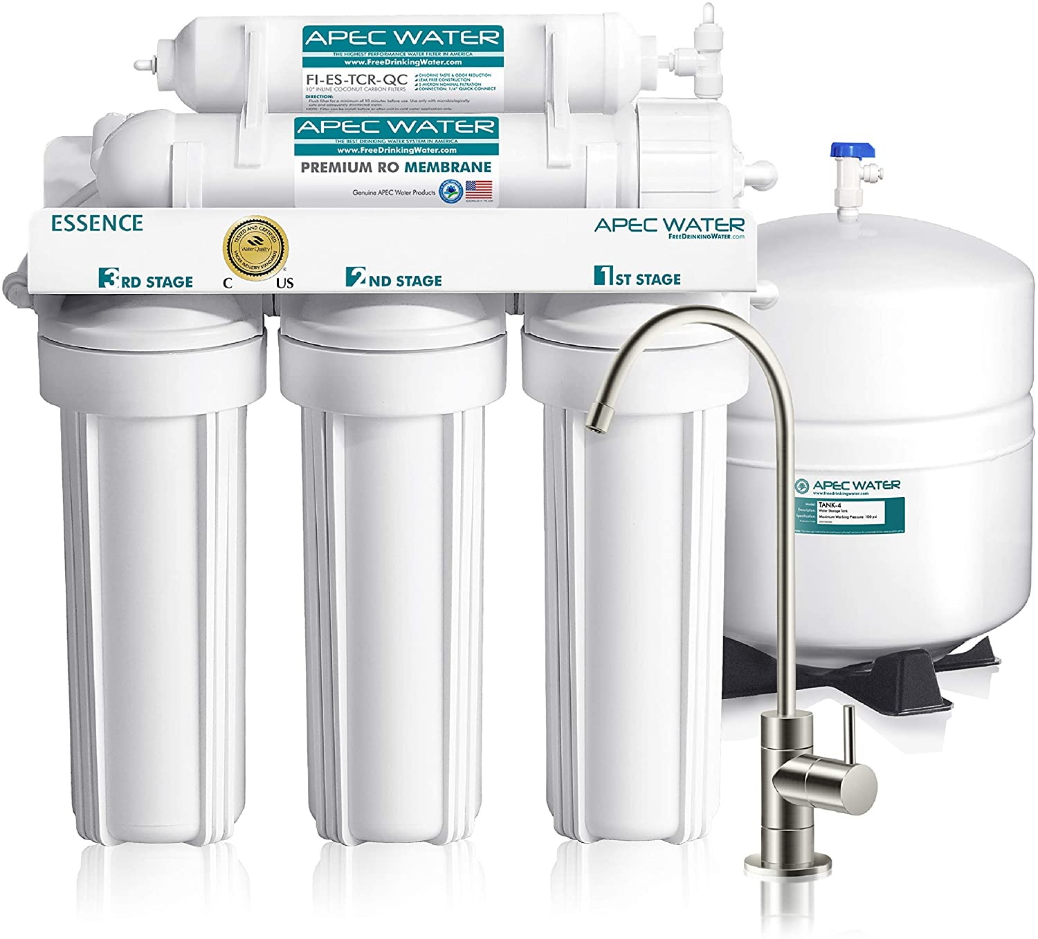 APEC Top Tier Under Counter Water Filter System