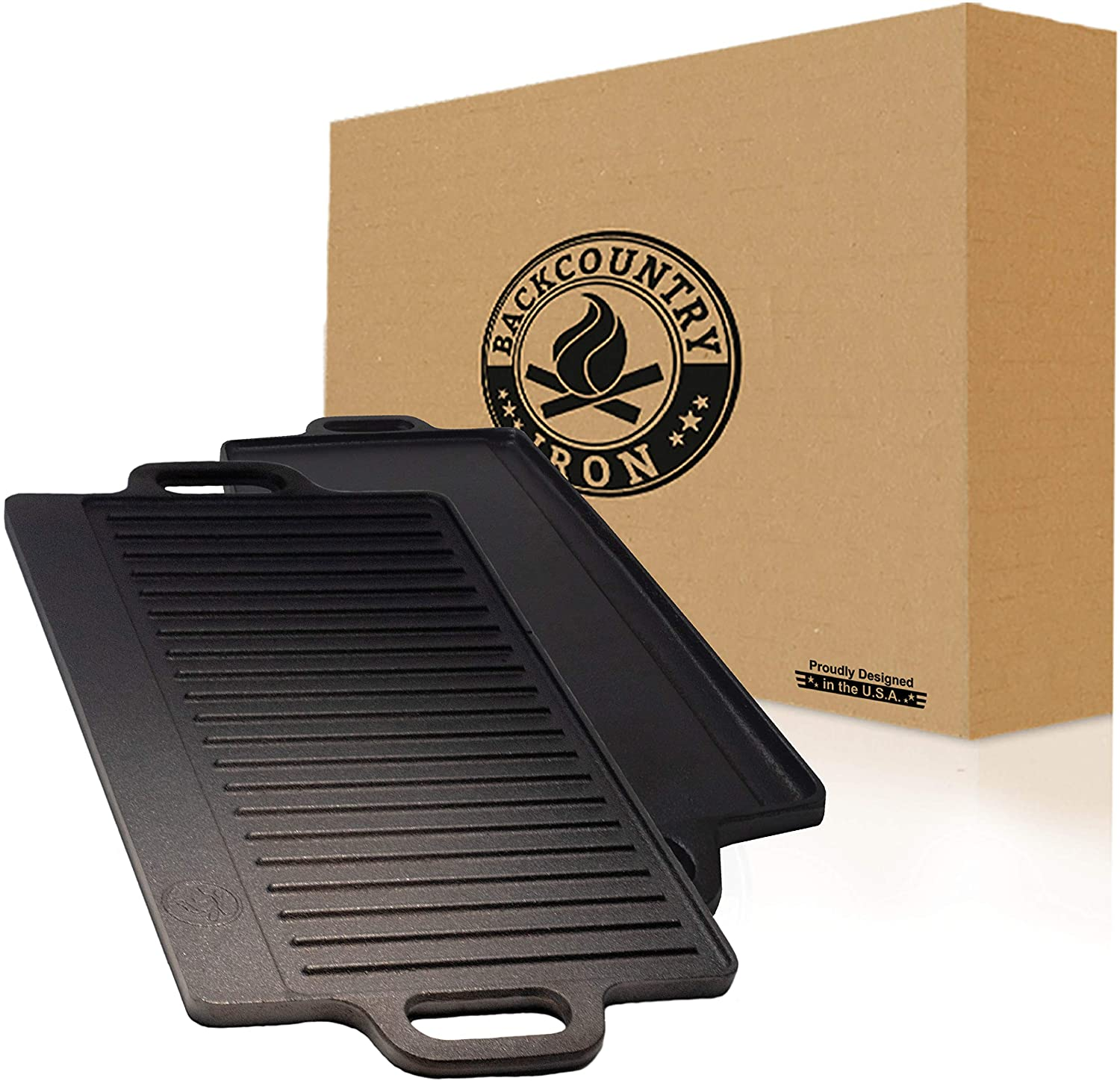 Back Country Cast Iron Griddle
